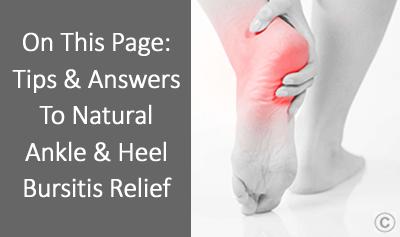 Ankle & Heel Bursitis Treatment OSMO Patch