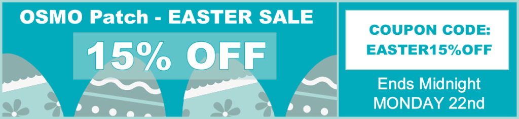 Easter Sale OSMO PATCH