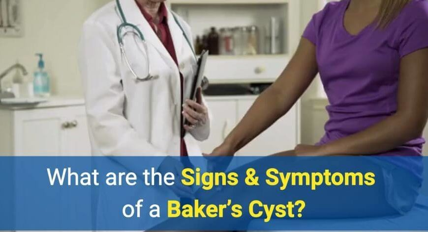 Signs & Symptoms of a Baker's Cyst by OSMO Patch