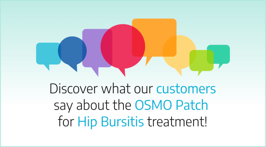 Discover what our customers say about the OSMO Patch for Elbow Bursitis treatment
