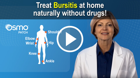 Treat bursitis naturally at home with the OSMO PatchTreat Baker's Cyst naturally at home with the OSMO Patch