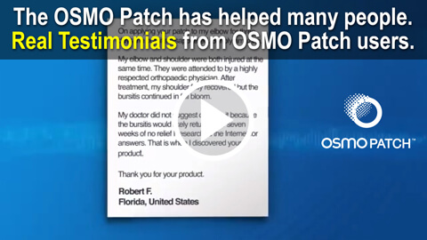 OSMO Patch real testimonials by real users
